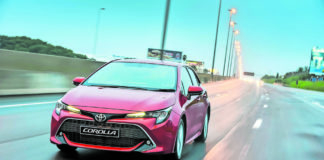 Great start: The Toyota Corolla Hatch won't be mistaken for a taxi