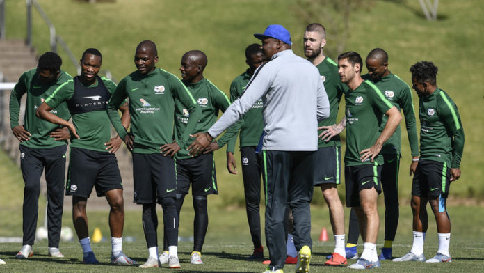 Bafana kick off manic week as Ntseki continues to forge identity