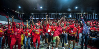 Flexing their muscles: The Economic Freedom Fighters Student Command is seeking to disrupt the party's status quo by backing a 'contestation' slate at the EFF's elective conference.