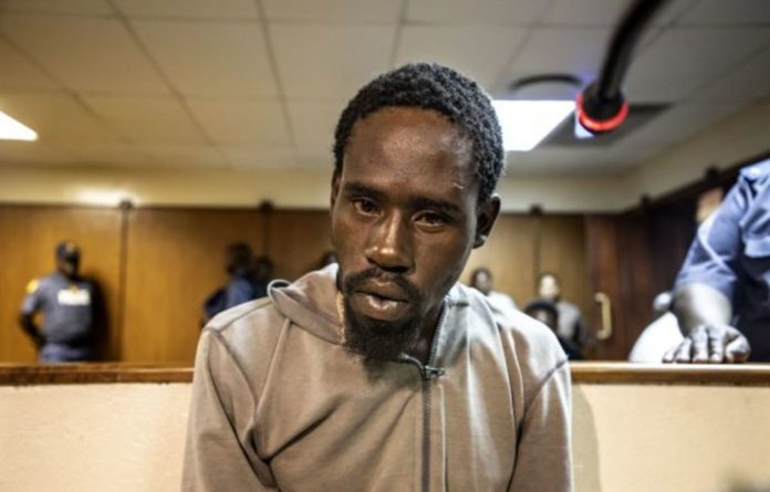 Spine-chilling: Aubrey Manaka will appear at the Molemole magistrate's court on January 20. He will face charges of murdering and raping Precious Ramabulana.
