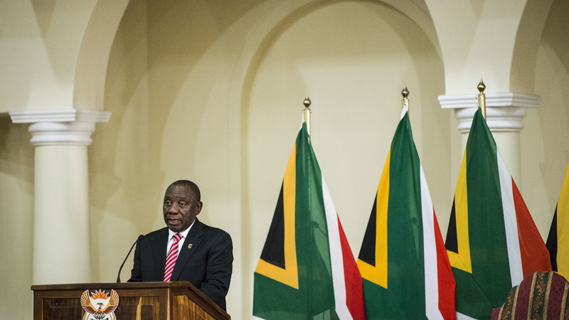 Ramaphosa meets opposition leaders - Mail and Guardian