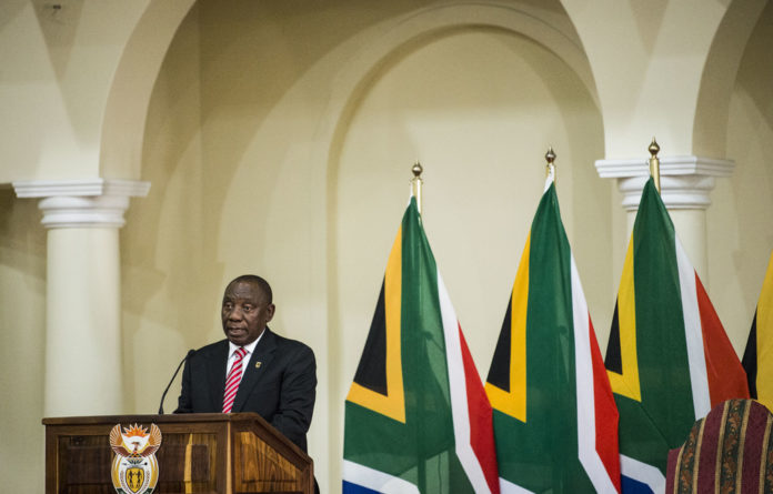 In the headlights : Cyril Ramaphosa
