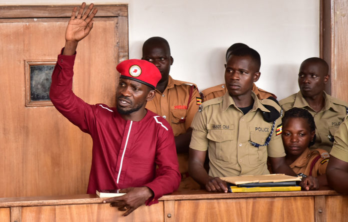 Bobi Wine announced last year he would challenge President Yoweri Museveni in the 2021 elections
