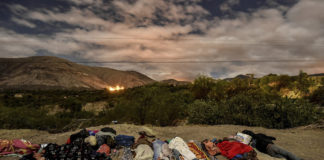 En route: Venezuelan refugees