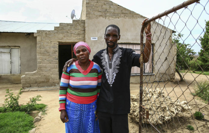 Michael Komape's parents