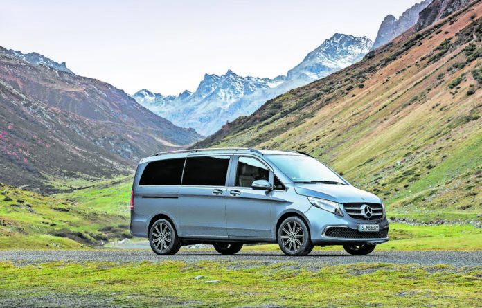 Mover: The Mercedes-Benz V250d is an ideal vehicle for a long road trip. It's spacious
