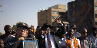 Police minister Bheki Cele visited Jeppestown on Tuesday to speak to business owners and community leaders.