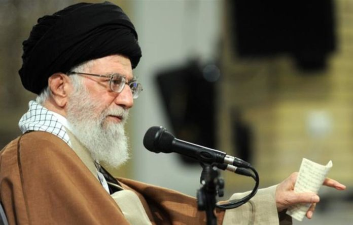 Iranian supreme leader Ayatollah Ali Khamenei said: