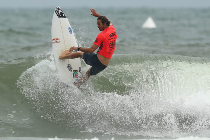 Jordy Smith at the World Surfing Games