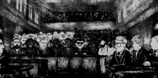 On the inside: Scenes of the courtroom