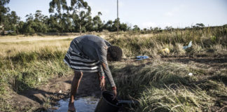 What is clear is that South Africa's not yet confronting an absolute water shortage.