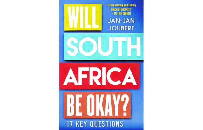 Can Eskom be fixed? This is one of the questions Jan-Jan Joubert asks in his book of 17 questions about our country