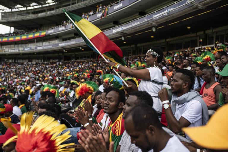 Abiy Ahmed woos the Ethiopian diaspora in South Africa