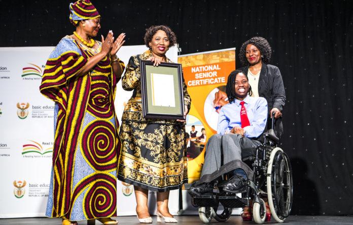 Academically gifted: Sibabalwe Mkunqwana