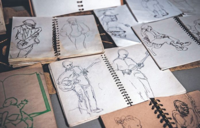 Inspiring change: Sketches from Judy Seidman's personal collection.