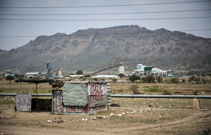 Impoverished: Bakgatla Ba-Kgafela's land is on the platinum belt in North West.