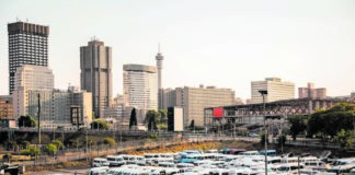 Jostling for space: In Gauteng