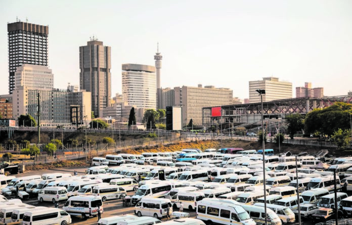 Jostling for space: In Gauteng