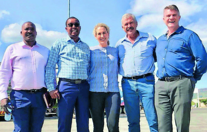 Board members of the Highway Junction Truck Stop Mdumiseni Mabaso