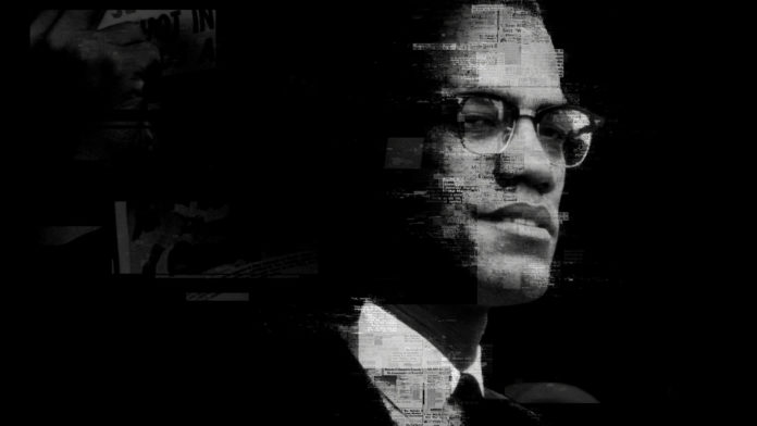 Portrait of Malcolm X (Still from Who Killed Malcolm X)