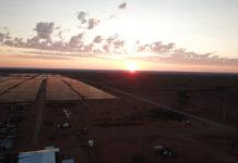 Scatec Solar's new plant near Upington