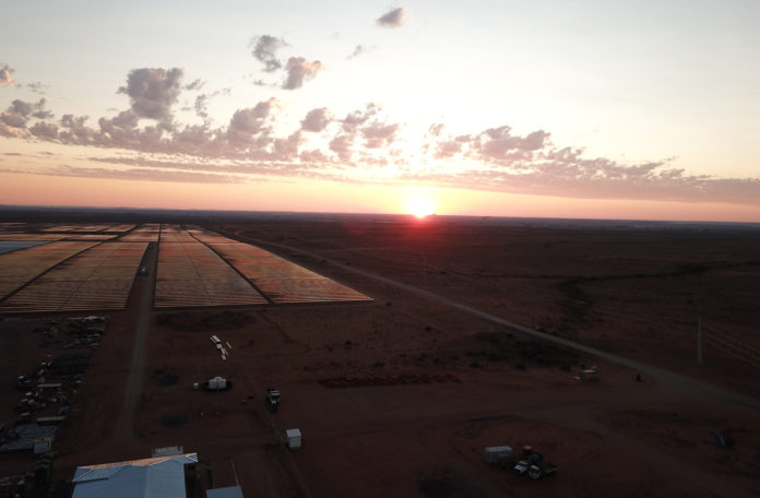 Scatec Solar's new plant near Upington