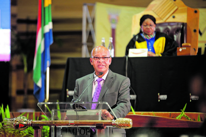 Limpopo premier Chupu Mathabatha says the province is implementing major catalytic projects to stimulate economic growth and – most importantly– job creation. (Chester Makana)