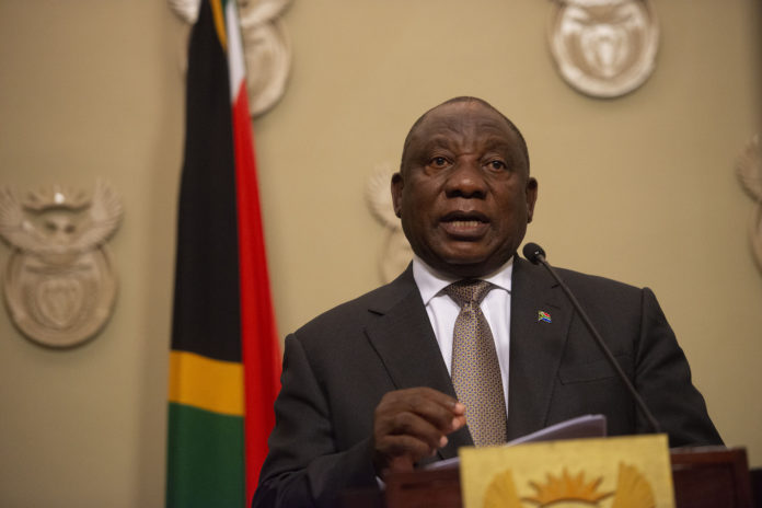 Ramaphosa Announces 21 Day Lockdown To Curb Covid 19 The Mail
