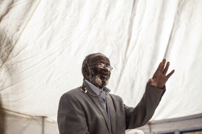 Credo Mutwa during his 95th birthday party