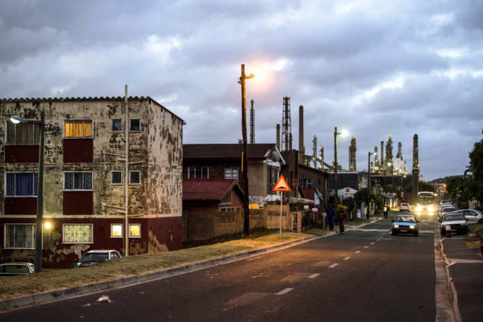 Wentworth oil refinery