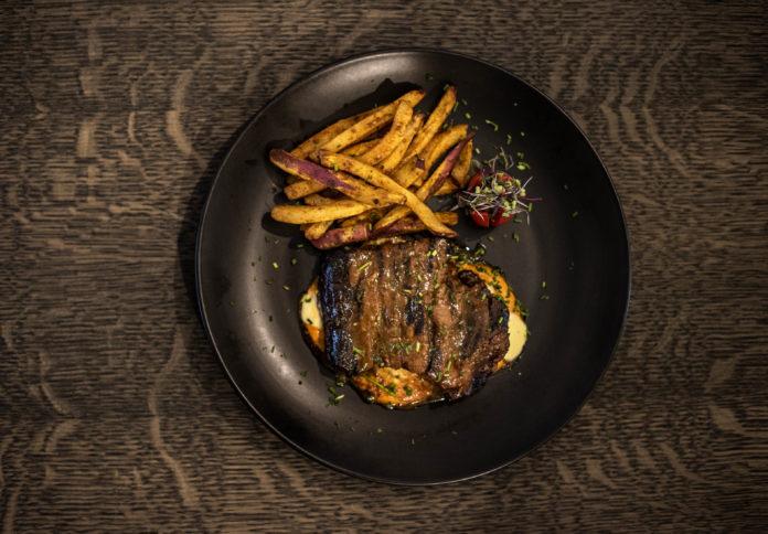 Steak from the Clenergy restaurant