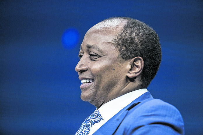 South African billionaire, Patrice Motsepe, has also pledged to spend R1-billion rand on fighting the Covid-19 pandemic in South Africa. (Dania Maxwell/Bloomberg via Getty Images)