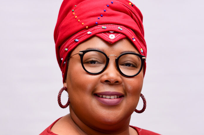 Dr Tlaleng Mofokeng, commissioner of the Commission for Gender Equality