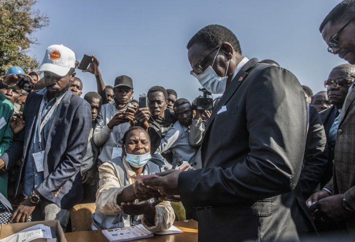 Malawi presidential election: Lazarus Chakwera declared victor