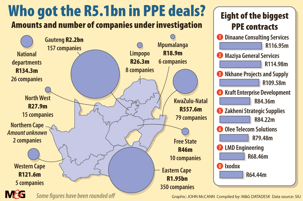 The PPE bonanza and how 'flukes' made people millions - The Mail & Guardian