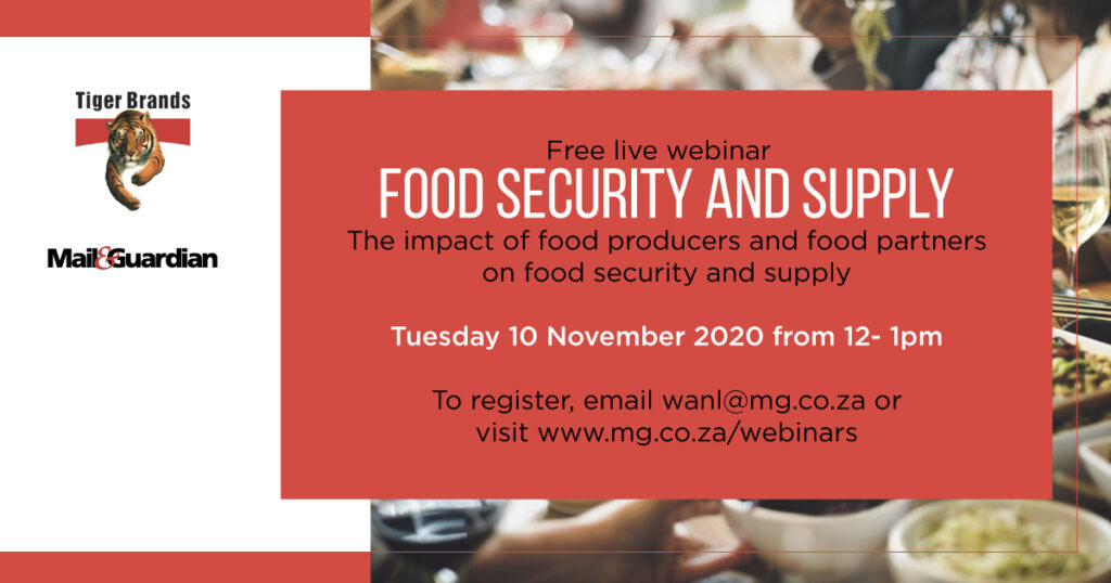 Food security and supply - The Mail & Guardian