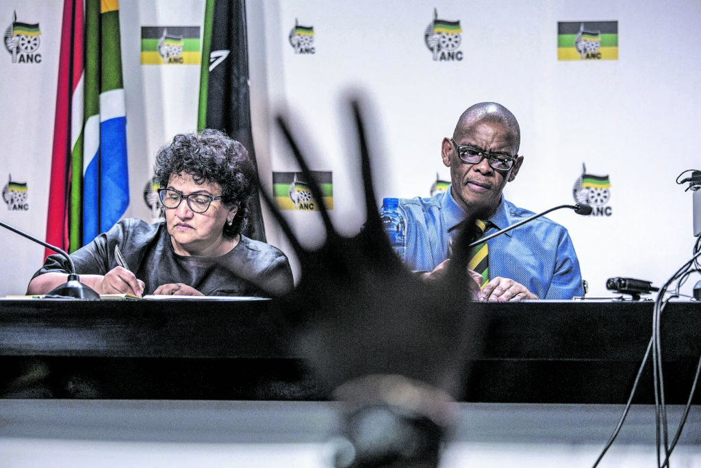 Magashule snubs former presidents Mbeki and Motlanthe - Mail and Guardian